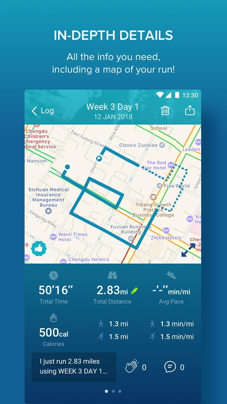 Couch to 5K® 4.3.0.73 Screen 3