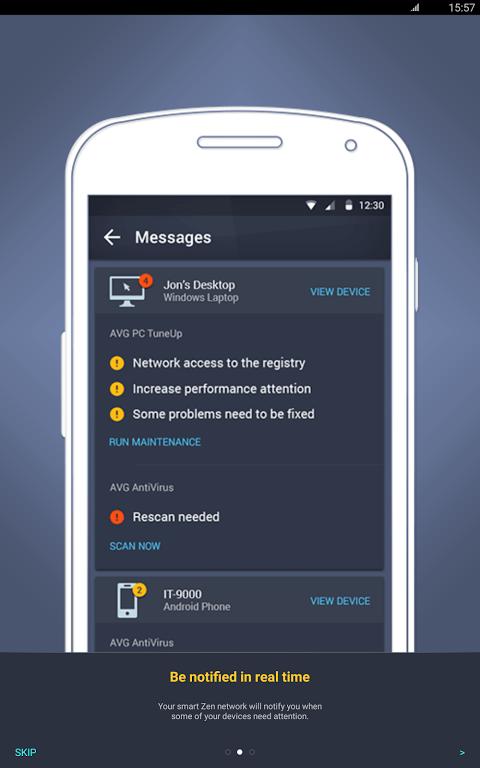 Android AVG?Zen Screen 9