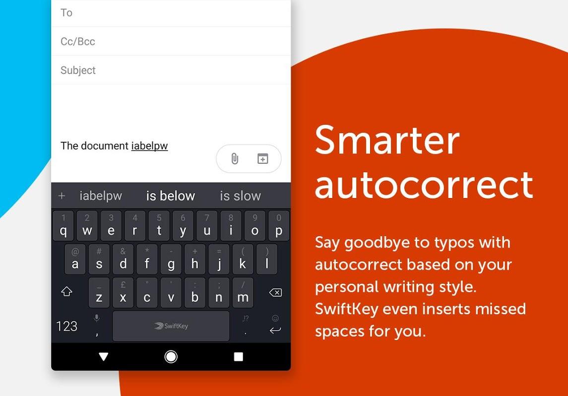 SwiftKey Keyboard 7.1.6.30 Screen 1