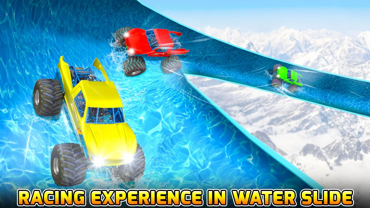 Android Water Slide Monster Truck Race Screen 1
