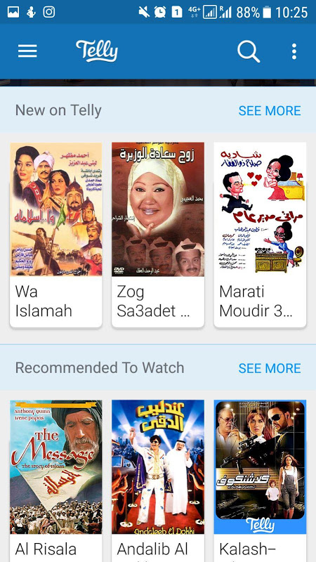 Android Telly - Watch TV & Movies Screen 7