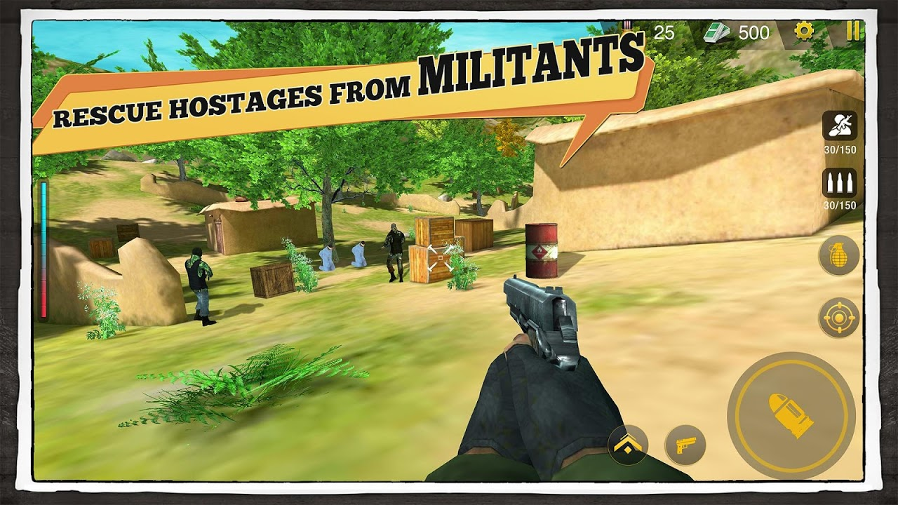 Android Yalghaar: Counter Terrorist Shoot - Free FPS Game Screen 1