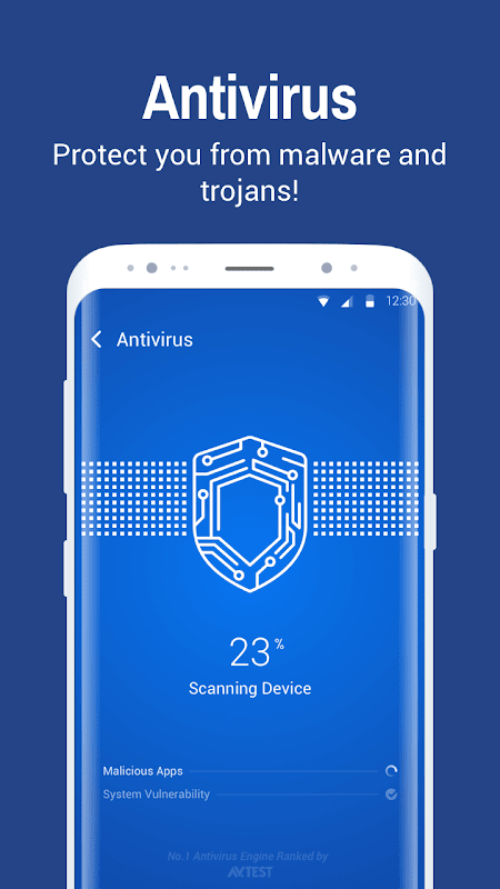 Android Clean Master- Space Cleaner & Antivirus & Free Ram Screen 1