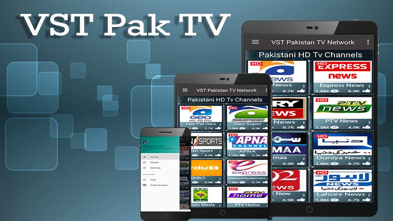 Android HD Pakistani TV Channels Free - VST PAK TV Screen 2