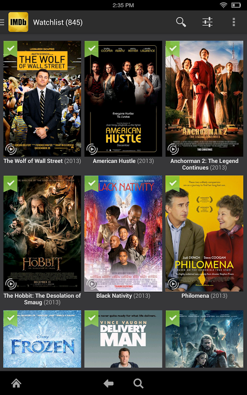 Android IMDb Movies & TV Screen 4