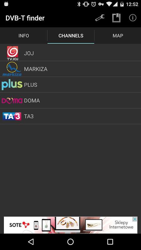 DVB-T finder 1.68 Screen 2
