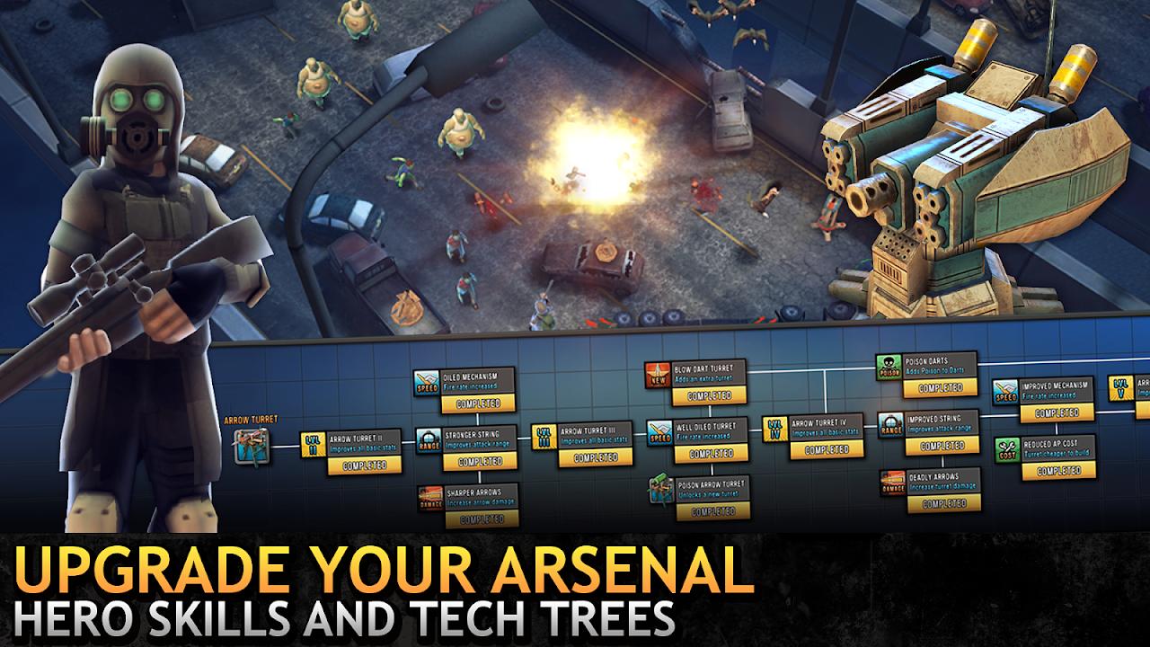 Last Hope TD - Zombie Tower Defense Games Offline 3.53 Screen 3