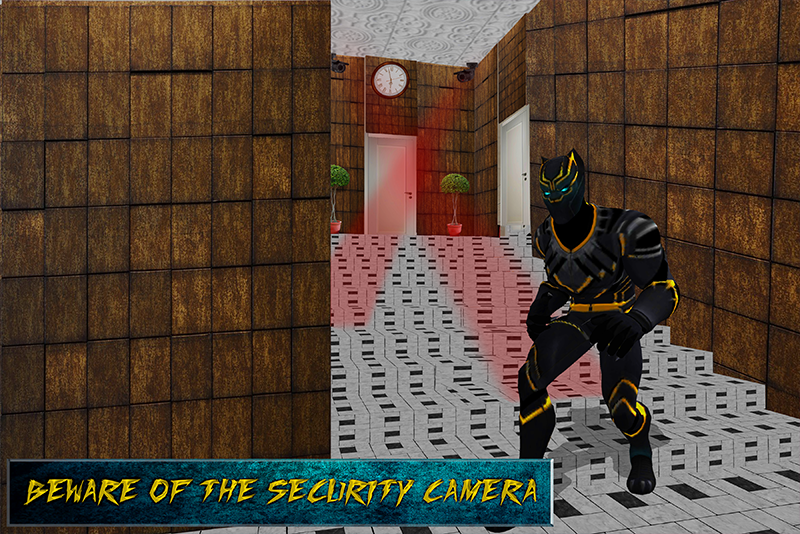 Secret Panther Spy Agent Game 1.0 Screen 1