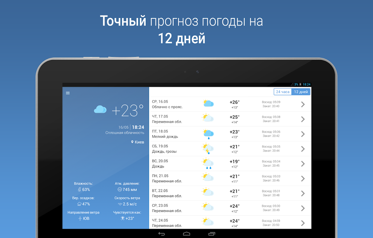 MeteoScope - Точная погода 1.3.7 Screen 5