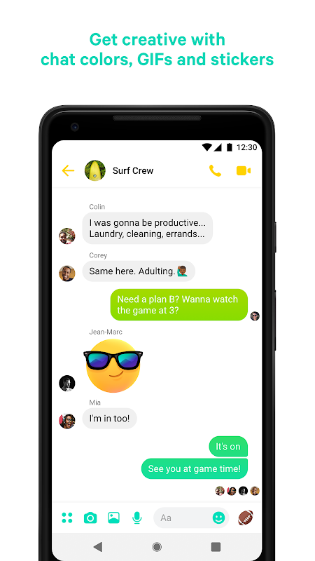 Messenger – Text and Video Chat for Free 218.0.0.0.36 Screen 1