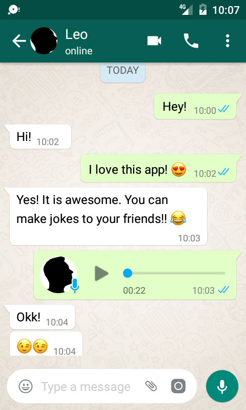 Fake Chat Conversations 1.9.2b Screen 6