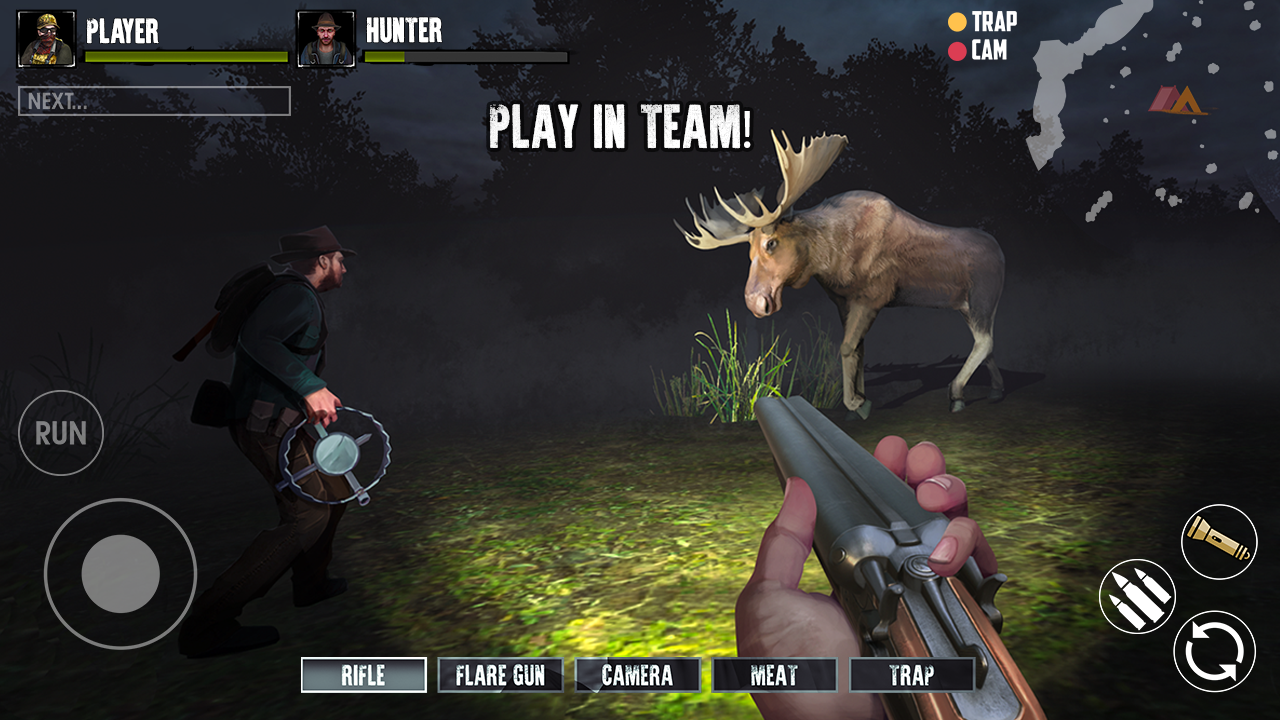Android Bigfoot Monster Hunter Online Screen 1