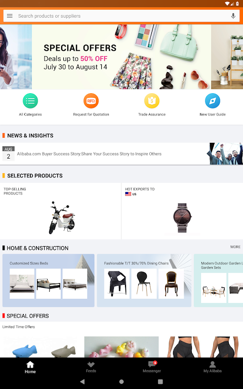Alibaba.com - Leading online B2B Trade Marketplace 6.11.2 Screen 5