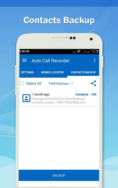 Auto Call Recorder PRO 1.11 Screen 6