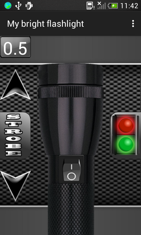Android My Bright Flashlight Screen 3