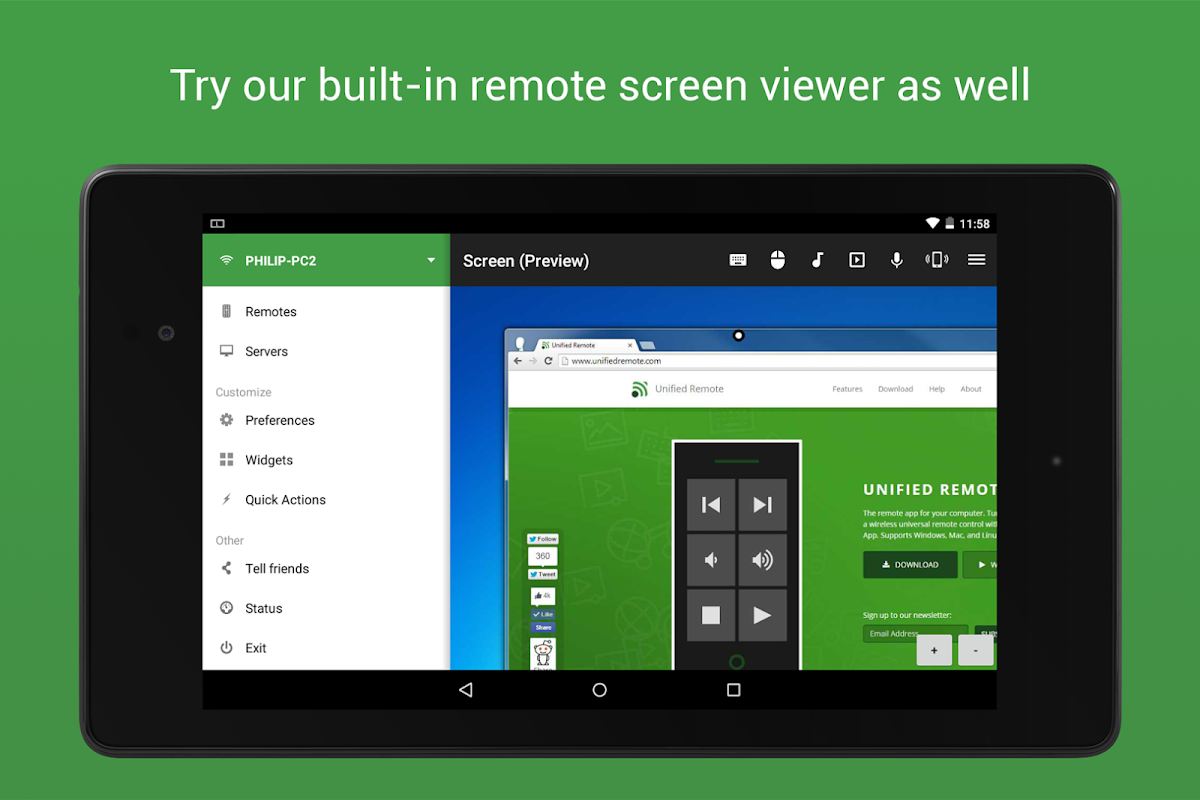 Unified Remote Full 3.11.0 Screen 18