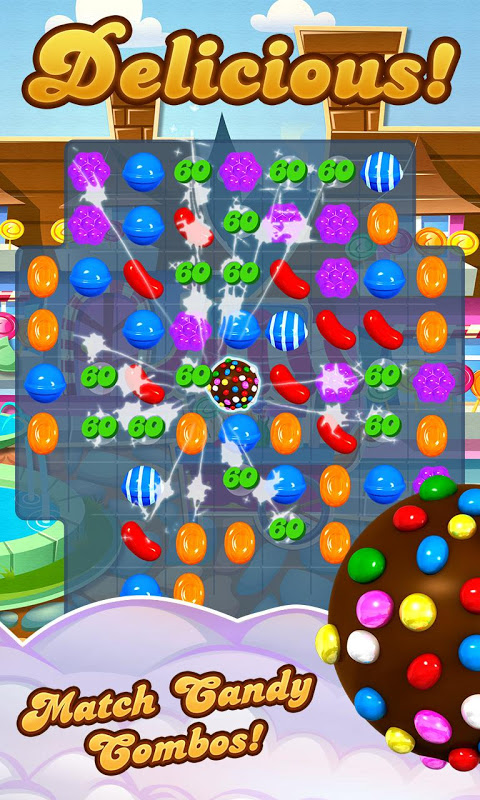 Android Candy Crush Saga Screen 6