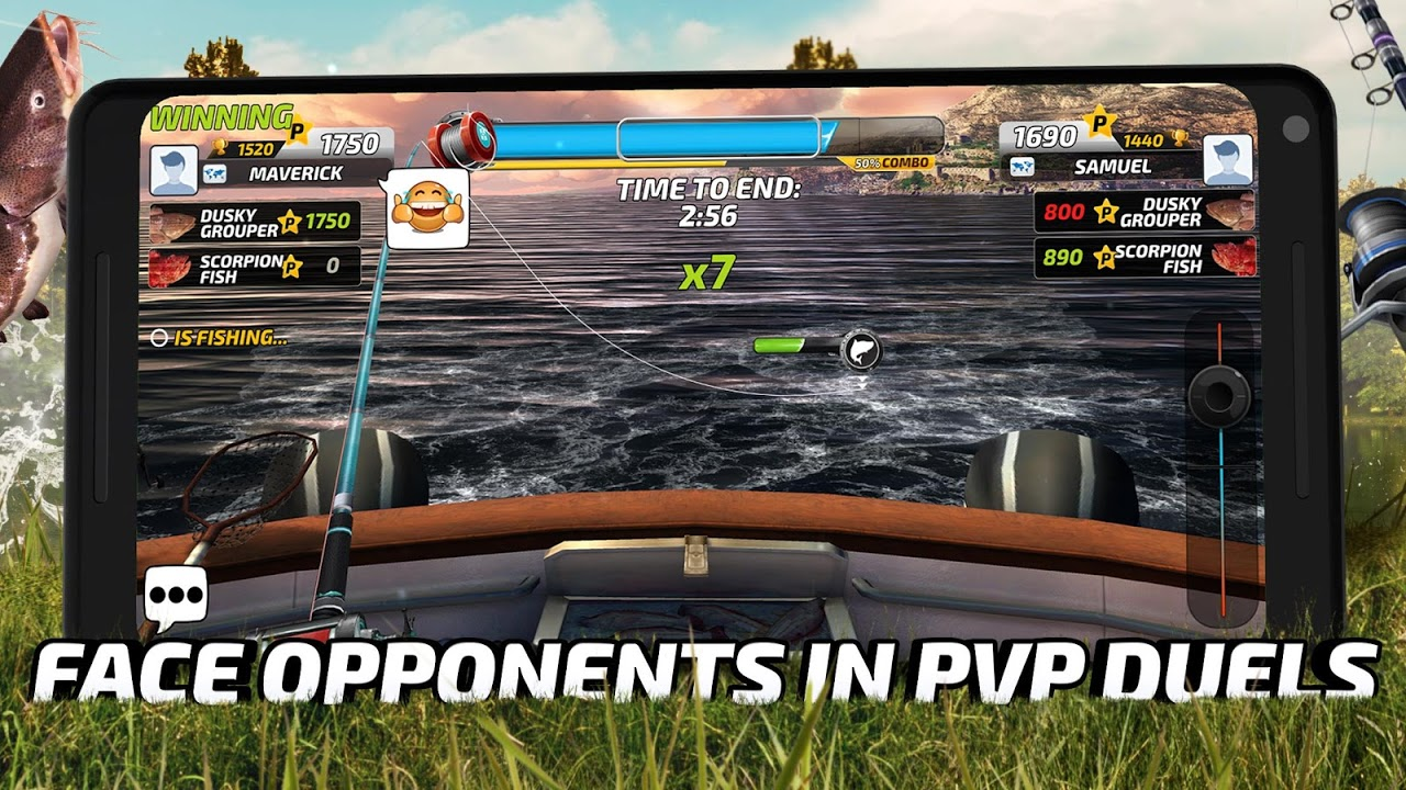 Fishing Clash: Catching Fish Game. Hunting Fish 3D 1.0.45 Screen 2