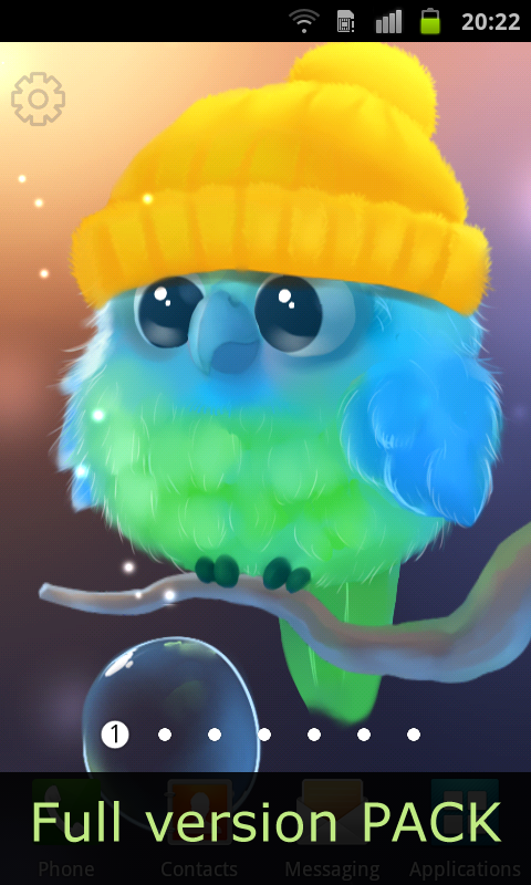Android Kiwi The Parrot Screen 3