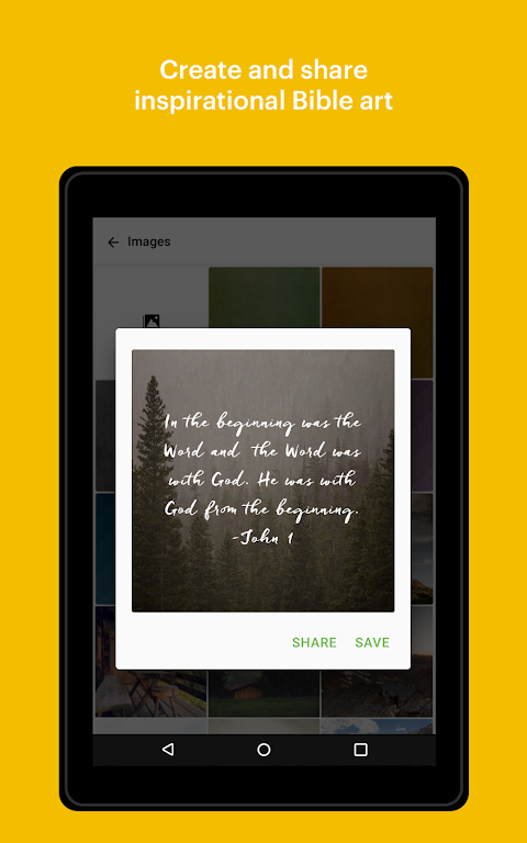 Android Bible: Daily Verse, Study, Audio and Devotions Screen 13