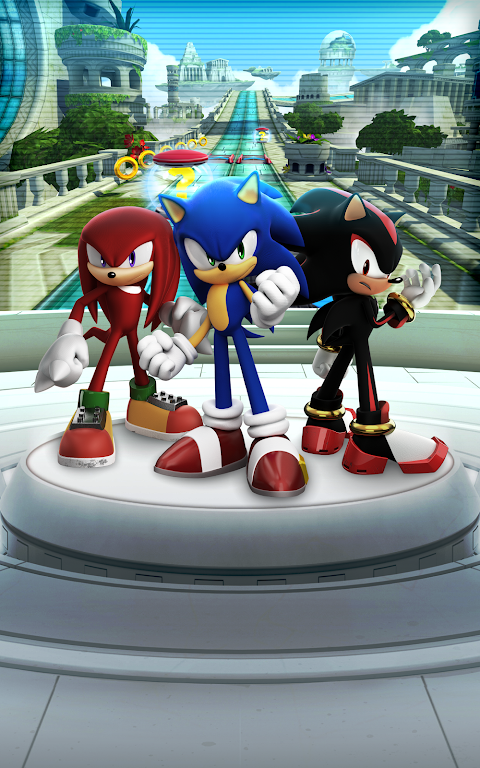 Android Sonic Forces: Speed Battle Screen 8