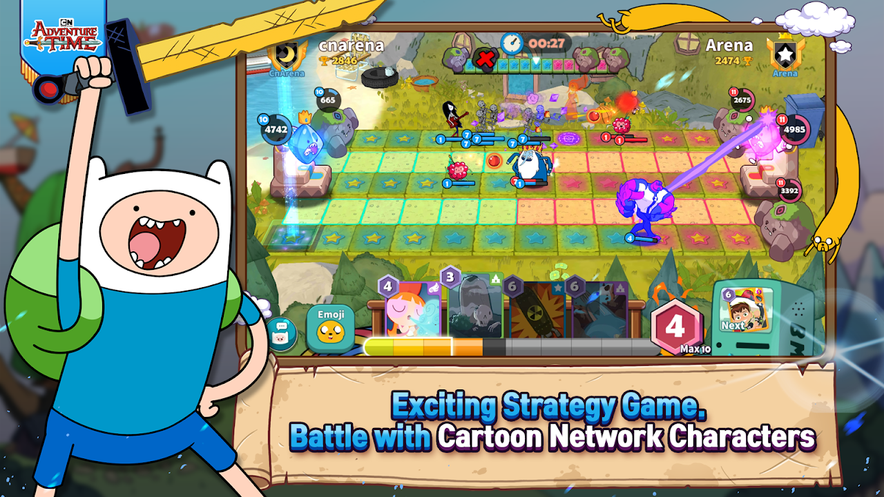 Android Cartoon Network Arena Screen 2