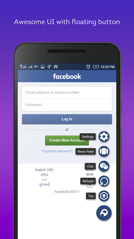 Lite Messenger FB- Facebrio 7.0.3 Screen 2