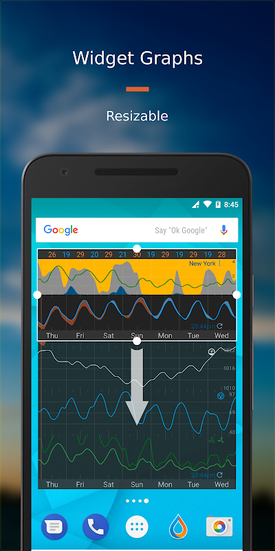 Android Flowx: Weather Map Forecast App Screen 7