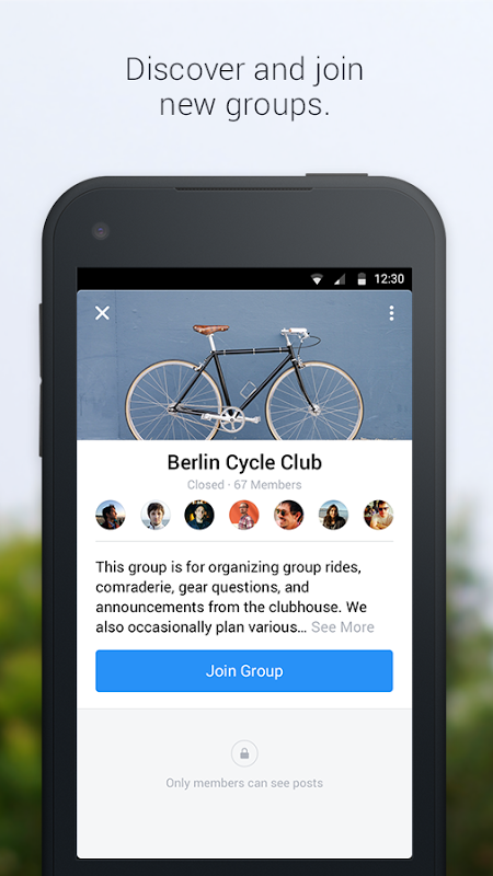 Android Groups Screen 4