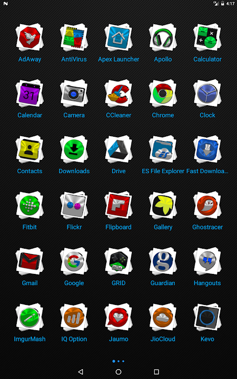 Android Stacks Icon Pack v4.2 Screen 9