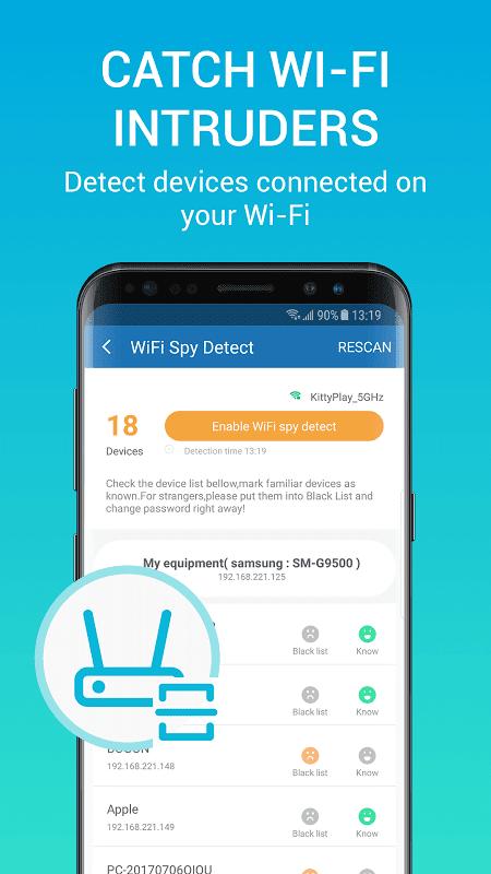 Network Security Pro - Speed test & VPN 1.1.6 Screen 3