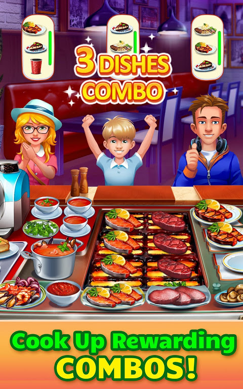 Android Cooking Craze: Crazy, Fast Restaurant Kitchen Game Screen 6