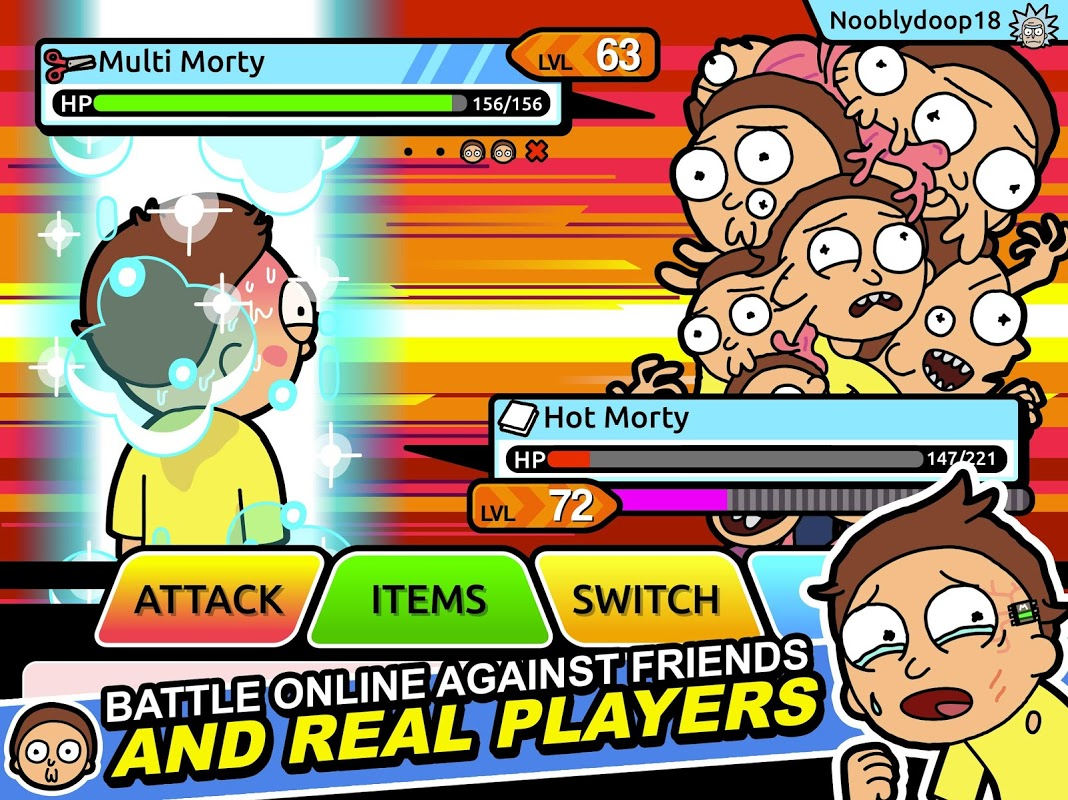 Android Pocket Mortys Screen 6