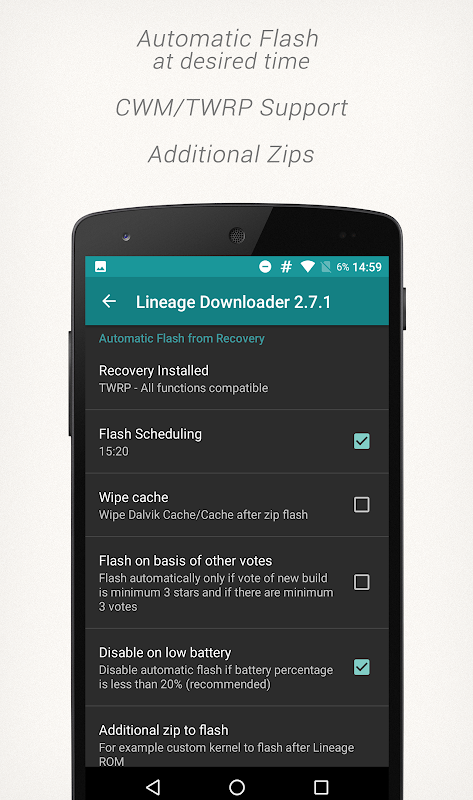 Lineage Downloader 3.3.2 Screen 3