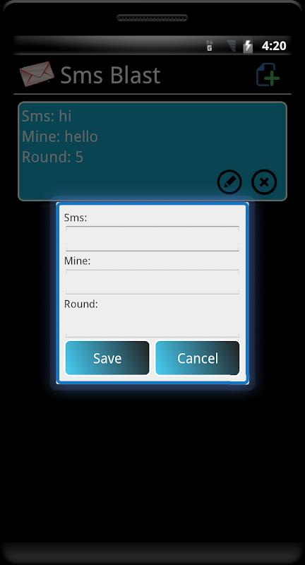 SMS Blast 1.45 Screen 4