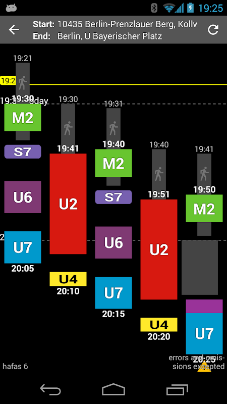 Offi - Journey Planner 10.1.4-google Screen 8