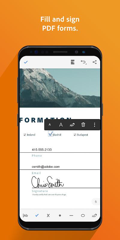 Adobe Acrobat Reader 19.3.0.9016 Screen 2