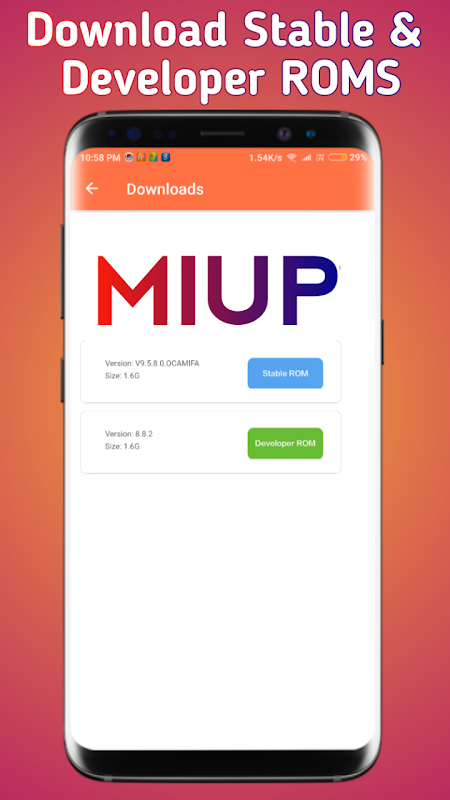 MIUP - Update MIUI 10 , MIUI Hidden Settings, News 3 3 9 APK