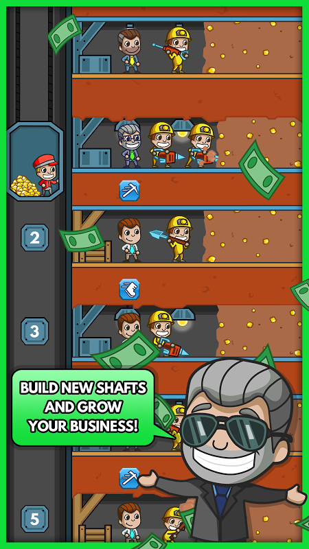 Android Idle Miner Tycoon Screen 6