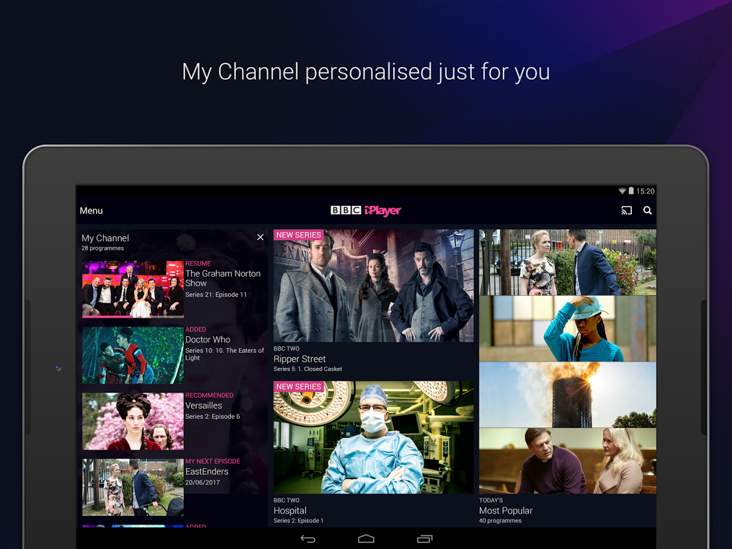 BBC iPlayer 4.38.0.3 Screen 17