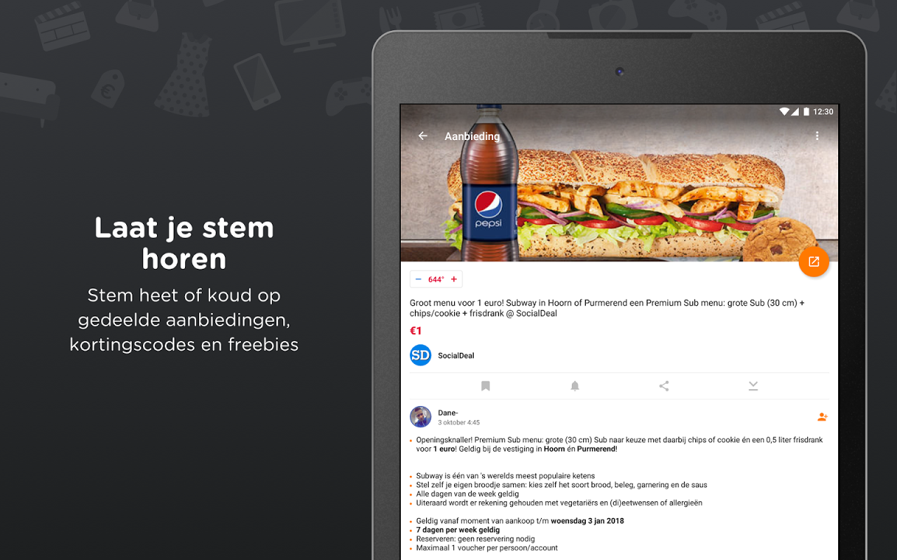 Android Pepper.com: De heetste deals Screen 11