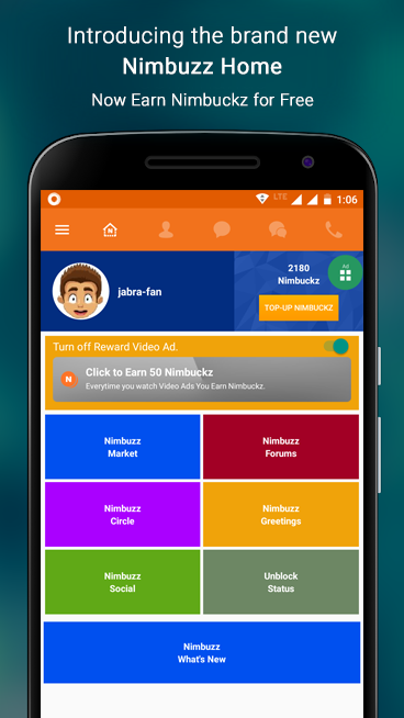 Nimbuzz Messenger / Free Calls 6.0.0 Screen 5