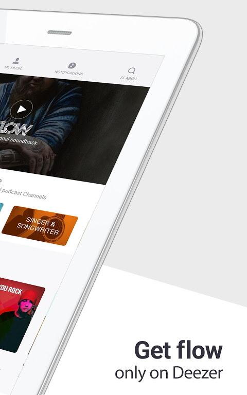 Deezer: Stream Music, Playlists, Albums & Songs 6.0.3.3 Screen 4