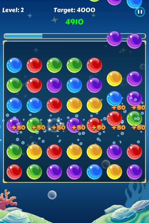 Android Bubble Crush Screen 2