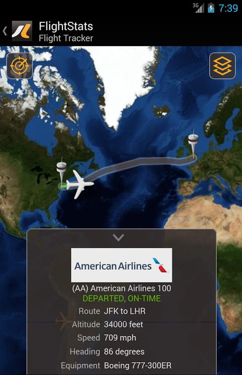 FlightStats 2.0.5 Screen 5