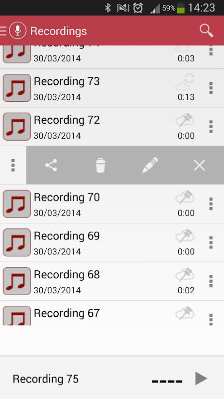 Voice Recorder 3.08 Screen 4