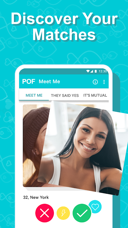 POF Free Dating App 3.99.0.1419117 Screen 1
