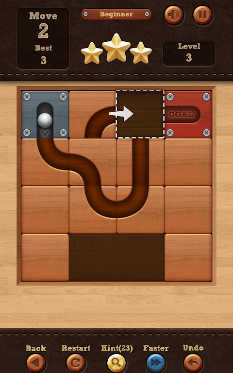 Roll the Ball� - slide puzzle 1.7.46 Screen 5