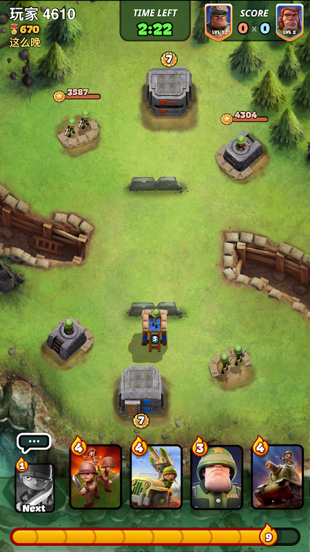 Android War Heroes: Clash in a Free Strategy Card Game Screen 7