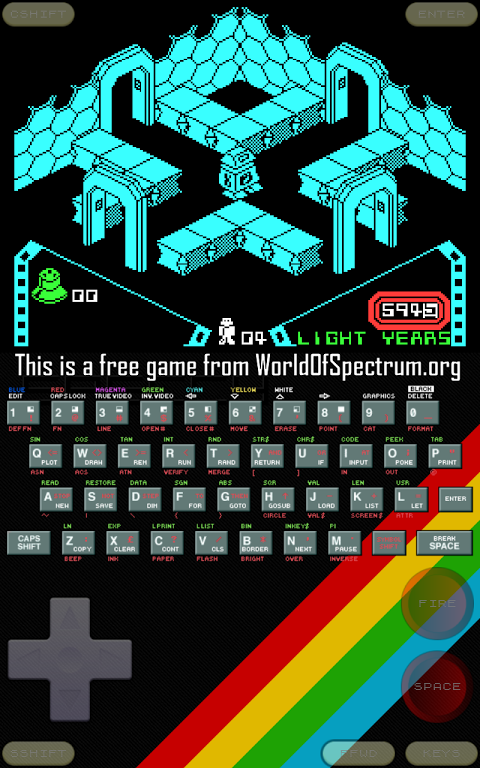 Android Speccy - ZX Spectrum Emulator Screen 19